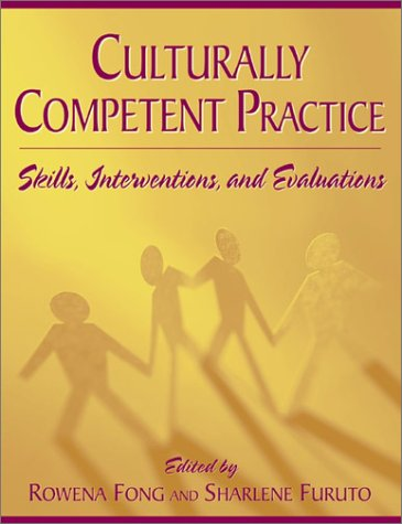 Culturally Competent Practice Skills, Interventions, and Evaluations  2001 edition cover