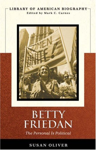 Betty Friedan The Personal Is Political  2008 edition cover