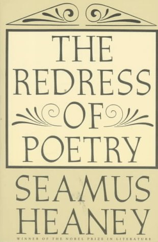 Redress of Poetry  N/A 9780374524883 Front Cover