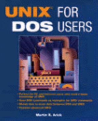 UNIX for DOS Users   1995 edition cover