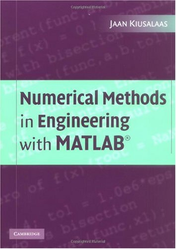 Numerical Methods of Engineering with MATLAB   2005 9780521852883 Front Cover