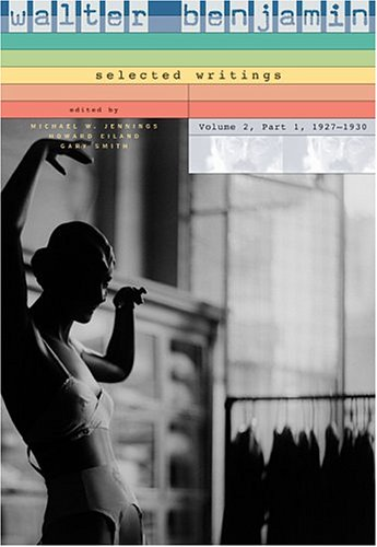 Walter Benjamin Selected Writings, 1927-1930  1999 9780674015883 Front Cover