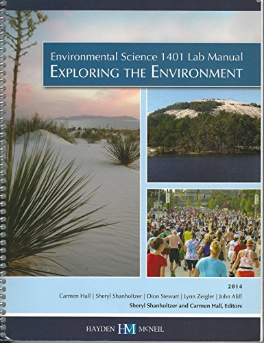 ENVIRONMENTAL SCIENCE LAB MANUAL 2014   N/A 9780738069883 Front Cover