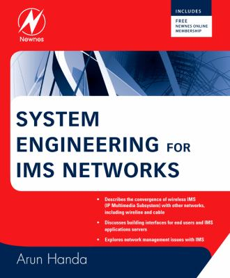 System Engineering for IMS Networks   2009 9780750683883 Front Cover