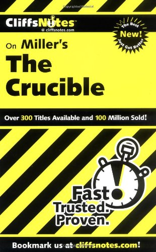 Miller's the Crucible   2000 edition cover