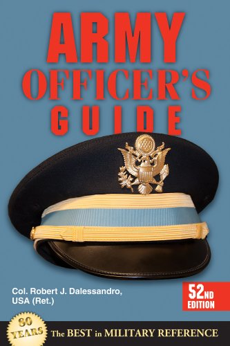 Army Officer's Guide 52nd Edition 52nd 2013 edition cover