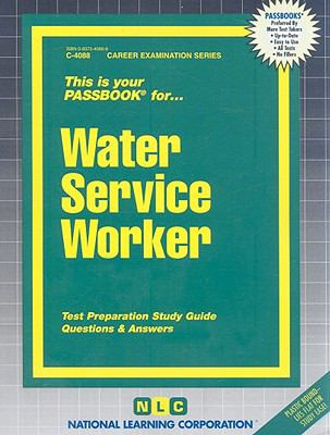 Water Service Worker  2005 edition cover