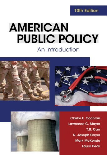 American Public Policy An Introduction 10th 2012 edition cover