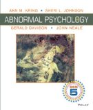Abnormal Psychology  12th 2014 edition cover