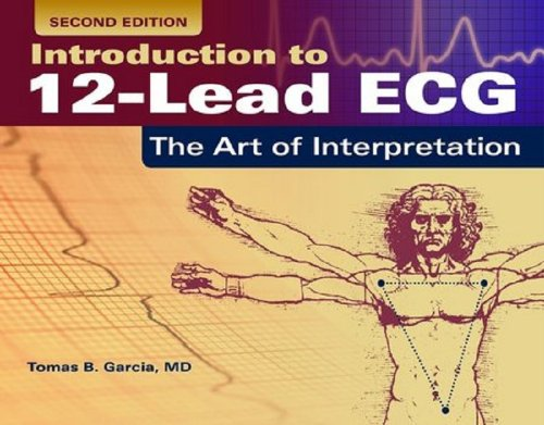 Introduction to 12-Lead ECG The Art of Interpretation 2nd 2015 edition cover