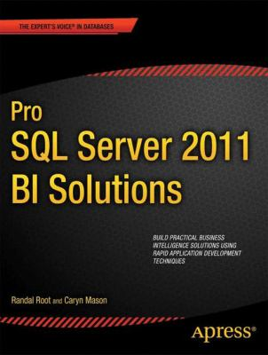 Pro SQL Server 2012 BI Solutions   2012 edition cover