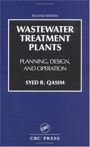 Wastewater Treatment Plants Planning, Design and Operation 2nd 1998 (Revised) edition cover