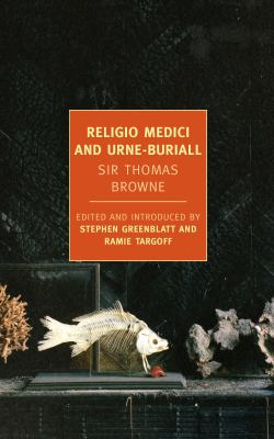 Religio Medici and Urne-Burial   2012 edition cover