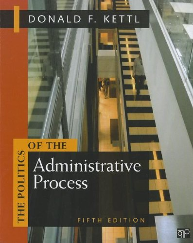 Politics of the Administrative Process  5th 2012 (Revised) edition cover