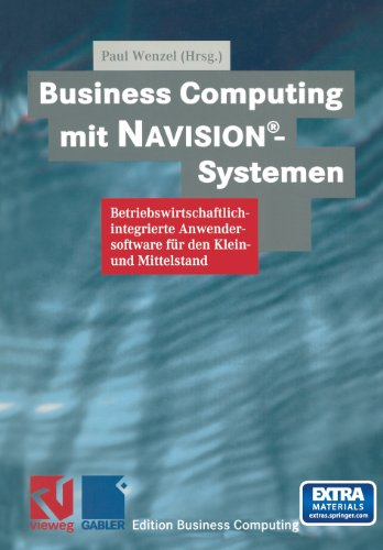 Business Computing MIT Navisionr-Systemen   1998 9783663119883 Front Cover