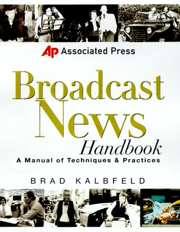 Associated Press Broadcast News Handbook   2001 edition cover