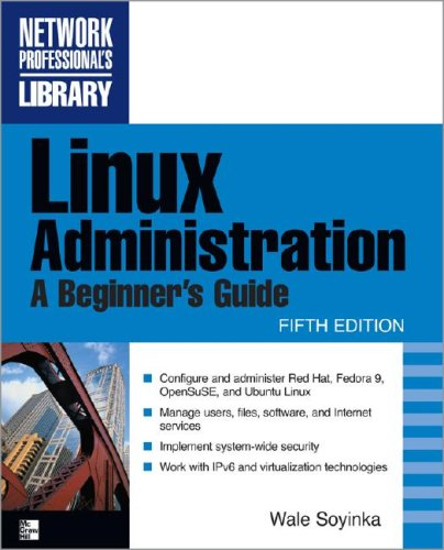 Linux Administration  5th 2009 (Revised) 9780071545884 Front Cover