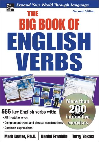 Big Book of English Verbs   2009 9780071602884 Front Cover
