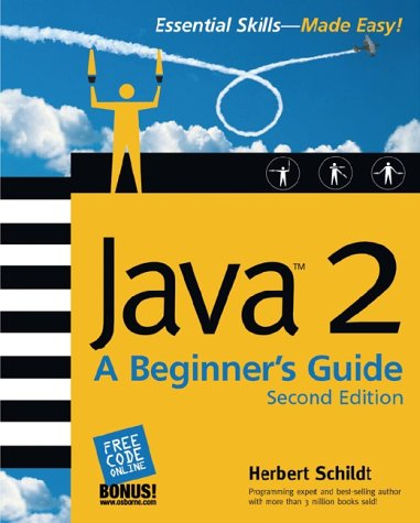 Java 2 A Beginner's Guide 2nd 2003 9780072225884 Front Cover