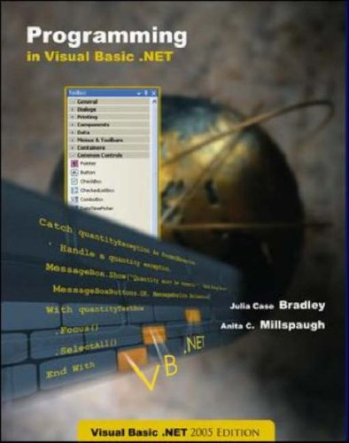 Programming in Visual Basic. NET  6th 2006 (Student Manual, Study Guide, etc.) edition cover