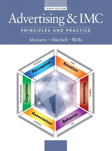 Advertising and IMC Principles and Practice 10th 2015 9780133506884 Front Cover