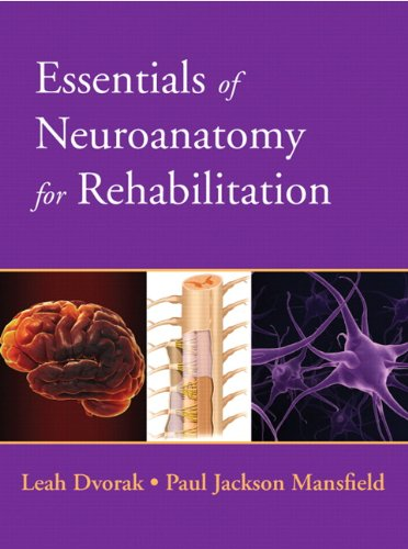 Essentials of Neuroanatomy for Rehabilitation   2013 edition cover