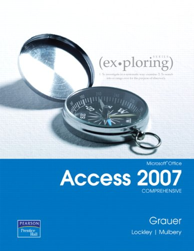 Access 2007  2nd 2010 9780135119884 Front Cover