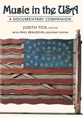 Music in the USA A Documentary Companion  2007 edition cover
