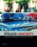 Police & Society:   2014 edition cover