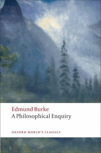 Philosophical Enquiry into the Origin of Our Ideas of the Sublime and Beautiful   2008 edition cover