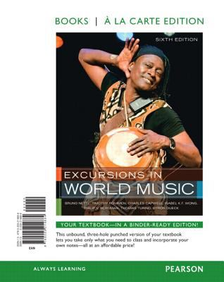 Excursions in World Music  6th 2011 edition cover