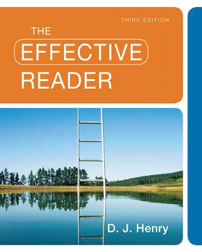 Effective Reader  3rd 2011 edition cover