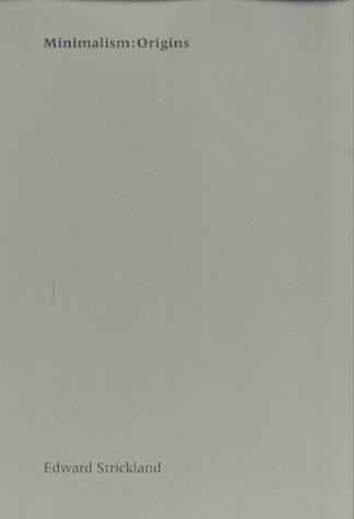 Minimalism - Origins   2000 edition cover