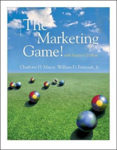 Marketing Game! 3rd 2002 edition cover
