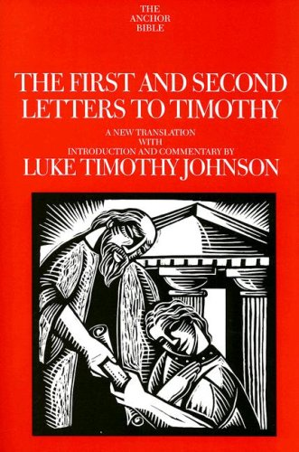First and Second Letters to Timothy   2008 edition cover