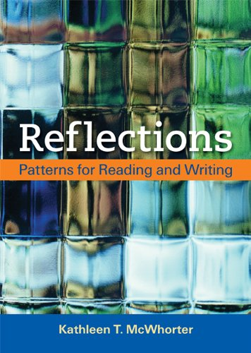 Reflections Patterns for Reading and Writing  2014 edition cover