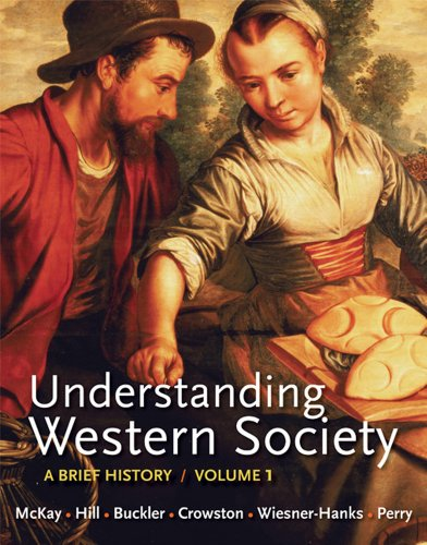 Understanding Western Society A Brief History  2012 edition cover