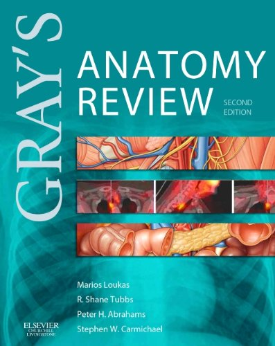 Gray's Anatomy Review With STUDENT CONSULT Online Access 2nd 2015 edition cover