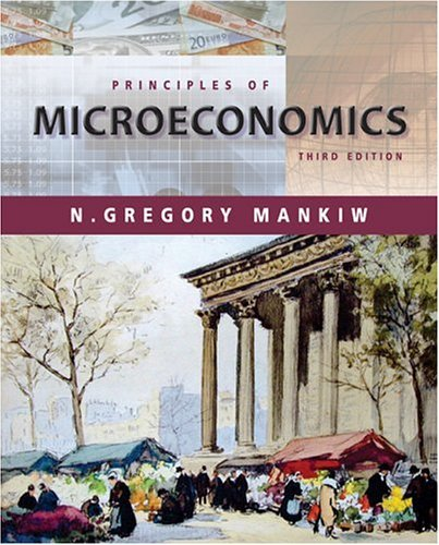 Principles of Microeconomics  3rd 2004 edition cover