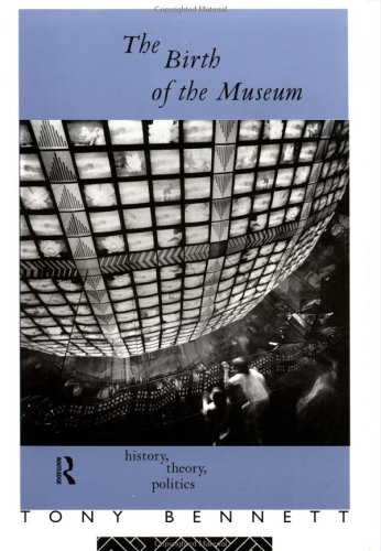 Birth of the Museum History, Theory, Politics  1995 edition cover