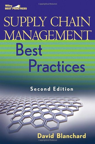 Supply Chain Management Best Practices  2nd 2010 edition cover