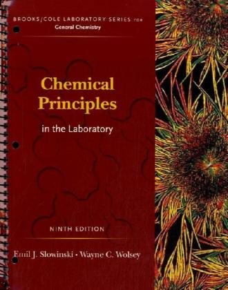 Chemical Principles in the Laboratory  9th 2009 (Revised) edition cover