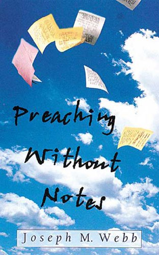 Preaching Without Notes   2001 edition cover