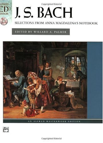 Selections from Anna Magdalena's Notebook   2004 edition cover