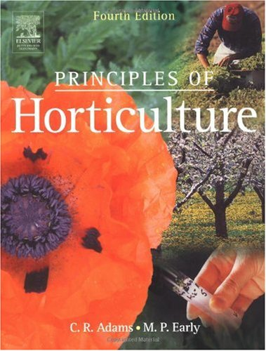 Principles of Horticulture  4th 2004 (Revised) edition cover