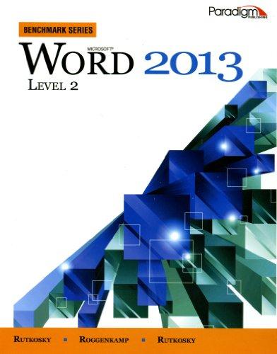 MICROSOFT WORD 2013:BENCH.LEV.2-W/CD    N/A edition cover