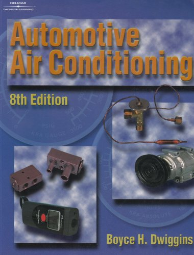 Automotive Air Conditioning  8th 2002 (Revised) edition cover