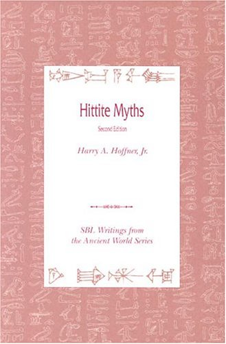 Hittite Myths  2nd 1998 edition cover