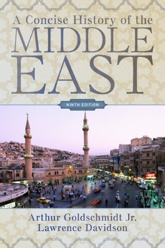 Concise History of the Middle East  9th 2009 edition cover