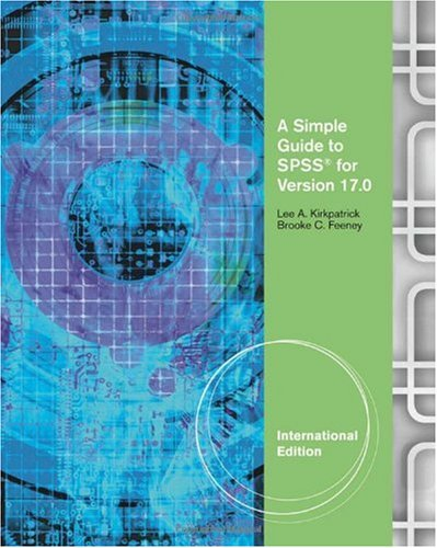 Simple Guide to SPSS  10th 2011 edition cover